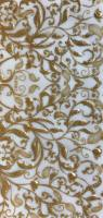 Wax foil - floral gold 100x200mm