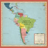CARTOGRAPHY NO.2 - South America Map