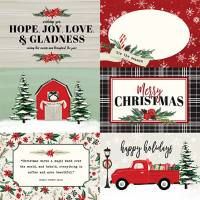 Carta Bella - Christmas Market - 4x6 Journaling Cards