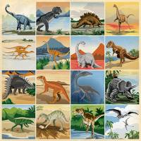 Carta Bella - Dinosaurs - 3x3 Journaling Cards
