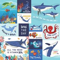 Fish are Friends - Multi Journaling Cards