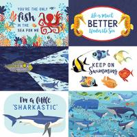Fish are Friends - 4X6 Journaling Cards